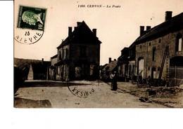1460. - CERVON. - La Poste. CPA Animée, En Très Bon état. A Circulé En 1923. Collection Roubé. Voir SCAN. - Other Municipalities