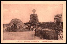 Vimy - La Redoute Des Canadiens - Canadian Redoubt - Animée - Militaire - Edit. FAUCHOIS - Otros Municipios