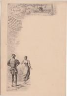 """Menu """" Le Loup Et L' Agneau """" / Fable La Fontaine / Illustrateur Greux - Menus"""