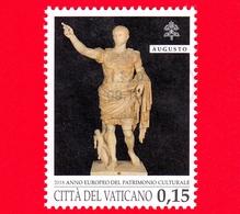 VATICANO - Usato - 2018 - Anno Europeo Del Patrimonio Culturale - Augusto Di Prima Porta  - 0.15 - Vatican