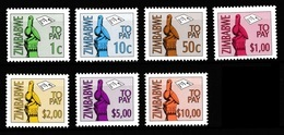 Zimbabwe 2000 Postage Dues MNH / ** (Simbabwe) - Zimbabwe (1980-...)