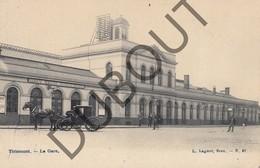 Fotokaart - Carte Photo TIENEN/Tirlemont La Gare - Het Station  (K48) - Tienen