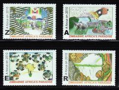 """Zimbabwe 2010 Tourism """"Africa's Paradise"""" Set MNH / ** (Simbabwe) - Zimbabwe (1980-...)"""