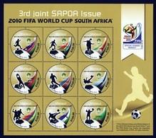 Malawi 2010 SAPOA Fifa World Cup Mini-Sheet, MNH / Mint / ** ( - Malawi (1964-...)