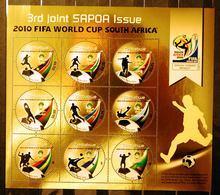 Zimbabwe 2010 SAPOA Fifa World Cup Mini-Sheet, MNH / Mint / ** ( - Zimbabwe (1980-...)