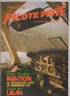 Revue L'aéro-club Et Le Pilote Privé N°62 Février 1979 - Le Stolmoth 001 - Le Quenaud 50 - Liban - Vol à Voile - Aviation