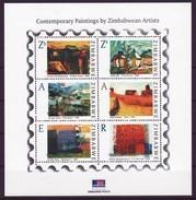 Zimbabwe 2009 Art / Paitings Mini-Sheet, MNH / Mint / ** (Simbabwe) - Zimbabwe (1980-...)