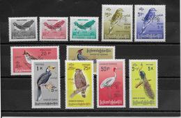 Birmanie Service  N°50/60 - Oiseaux - Neuf ** Sans Charnière - TB - Timbres