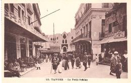 POSTAL   TANGER  -MARRUECOS  - LE PETIT SOKKO - Tanger
