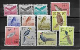 Birmanie N°90/101 - Oiseaux - Neuf ** Sans Charnière - TB - Timbres