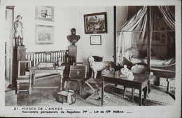 CPA. - > Musée De L'Armée - Souvenirs Personnels De Napoléon 1er - Lit De Ste Hélène - Très Bon état - Museum