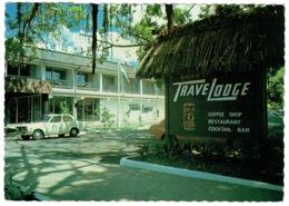 Ref 1260 - 1982 Postcard - Suva Travelodge Hotel - Fiji Slogan Postmark - Fiji