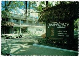 Ref 1260 - 1982 Postcard - Suva Travelodge Hotel - Fiji Slogan Postmark - Fidji