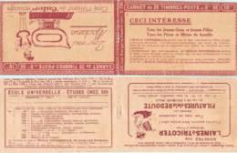 FRANCE - Carnet Série 130 E Couverture Vide Calor - 50c Semeuse Lignée Rouge I - YT 199 C… - Usage Courant