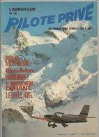 Revue L'aéro-club Et Le Pilote Privé N°61 Janvier 1979 - Voler En Montagne - Le Bell 47G - Le Nouveau Rutan Defiant - Aviation