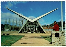 Ref 1260 - Postcard - Aviation Pioneers Memorial Cooma - Snowy Mountains - New South Wales Australia - Australie