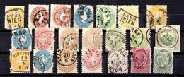 Autriche Belle Petite Collection D'anciens Oblitérés 1858/1883. Bonnes Valeurs. A Saisir! - 1850-1918 Empire