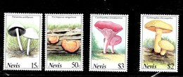 Serie De Nevis Nº Yvert 495/98 ** SETAS (MUSHROOMS) - St.Kitts Y Nevis ( 1983-...)