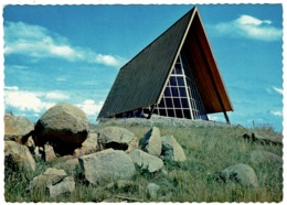 Ref 1260 - Postcard - St Andrew's Church Snowy Mountains - New South Wales Australia - Australie