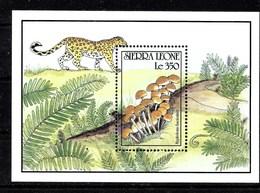 Hoja Bloque De Sierra Leona Nº Yvert HB-139 ** SETAS (MUSHROOMS) - Sierra Leona (1961-...)
