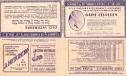 FRANCE - Carnet Série 219 Couverture Vide Perpedes Gaine- 50c Fachi Rouge II - YT 272 C… - Carnets