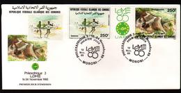 Comores,1985, PHILEXAFRIQUE III,. INTERNATIONAL PHILATELIC EXHIBITION - Comores (1975-...)