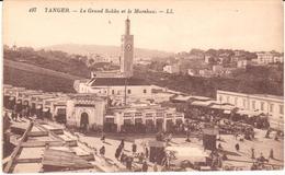 POSTAL   TANGER  -MARRUECOS  - LE GRAND SOKKO ET LE MARSHAN - Tanger