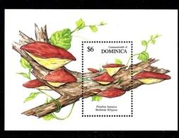 Hoja Bloque De Dominica Nº Yvert HB-178 ** SETAS (MUSHROOMS) - Dominica (1978-...)