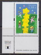 Europa Cept 2000 Poland 1v (corner) ** Mnh (41680N) - Europa-CEPT