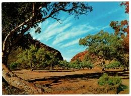 Ref 1260 - Postcard - Heavitree Gap - Northern Territory Australia - Australia