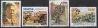 Sénégal 2014 Mi. 2216/2219 Centenaire Première Guerre Mondiale World War 1914 Weltkrieg Avion Airplane Flugzeug MNH - Guerre Mondiale (Première)