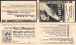 FRANCE - Carnet Série 298 Couverture Vide Morreton Chapeaux - 50c Paix Rouge I - YT 283 C… - Carnets