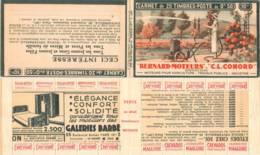 FRANCE - Carnet Série 326 Couverture Vide Bernard Moteurs Conord - 50c Paix Rouge IIA - YT 283 C… - Carnets