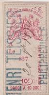 T.F.Effets De Commerce N°197 - Fiscaux