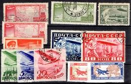 Russie Belle Petite Collection De Poste Aérienne  Neufs **/* 1927/1934. B/TB. A Saisir! - 1923-1991 URSS