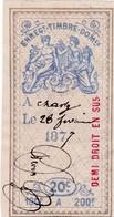 T.F.Effets De Commerce N°184 - Fiscaux