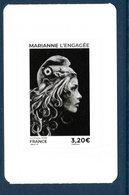 France 2018.Issu Du Carnet Marianne L'engagée Autocollants.** - Carnets
