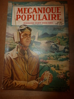 1949 MÉCANIQUE POPULAIRE:Cannage Des Chaises; Jeu De Quille De Table;Le Train Espagnol TALGO;Taille Du Cristal; Etc - Books, Magazines, Comics