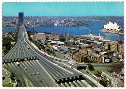 Ref 1260 - Postcard - Sydney Harbour With Toll Gates - New South Wales - Australia - Sydney