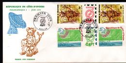 Cote D'Ivoire,1979, PHILEXAFRIQUE II,. INTERNATIONAL PHILATELIC EXHIBITION - Ivory Coast (1960-...)