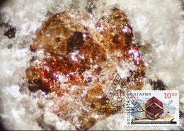 41461 Bulgaria,  Maximum 1995  Mineral,  Almandine - Minéraux