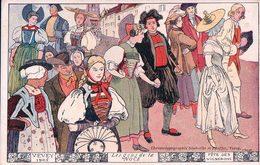 Vevey, Fête Des Vignerons 1905, Les Gens De La Noce, Litho (249) - VD Vaud