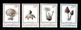 Serie De Luxemburgo Nº Yvert 1267/70 ** SETAS (MUSHROOMS) - Luxemburgo