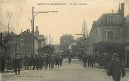 CPA 92 SCEAUX ROBINSON LA RUE HOUDAN EDIT.I.BASLE VOIR IMAGES - Sceaux