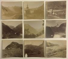 Lot De 30 Photos. Montagne. Glaciers. Alpes. - Photos