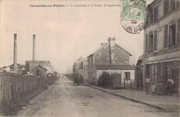 95 CORMEILLES EN PARISIS La Carrière Et Route D'Argenteuil - Cormeilles En Parisis