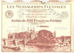 LES MESSAGERIE FLUVIALE - Navigation