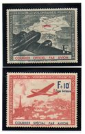 LVF, 1941. N° 2 Et 3 * - Liberación