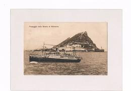 Cartolina - Postcard - Viaggiata/Sent - Passaggio Dello Stretto Di Gibilterra - Gibraltar