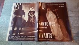 Revue Vu 1937 Fantômes Terreur Des Vivants Bulgarie Escalade à Fontainebleau Morgue Politique - Books, Magazines, Comics